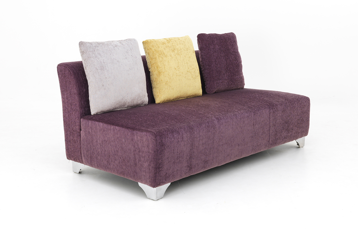 Victory by homeland online modern furniture spacewood product - Naples Purple 3 Seater Sofa By Homeland Online Modern