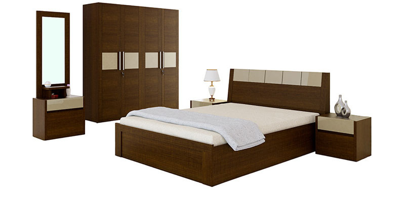 Wood Storage Bed Hydraulic Lift : Nuvo queen bed set full hydraulic lift on storage
